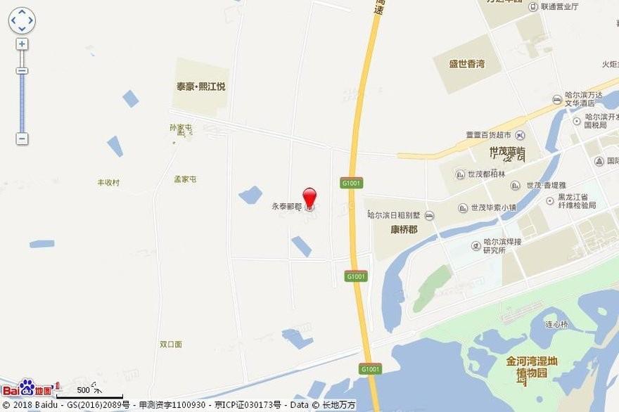 永泰·郦郡位置图