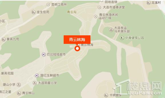 青云林海(公元壹号)位置图