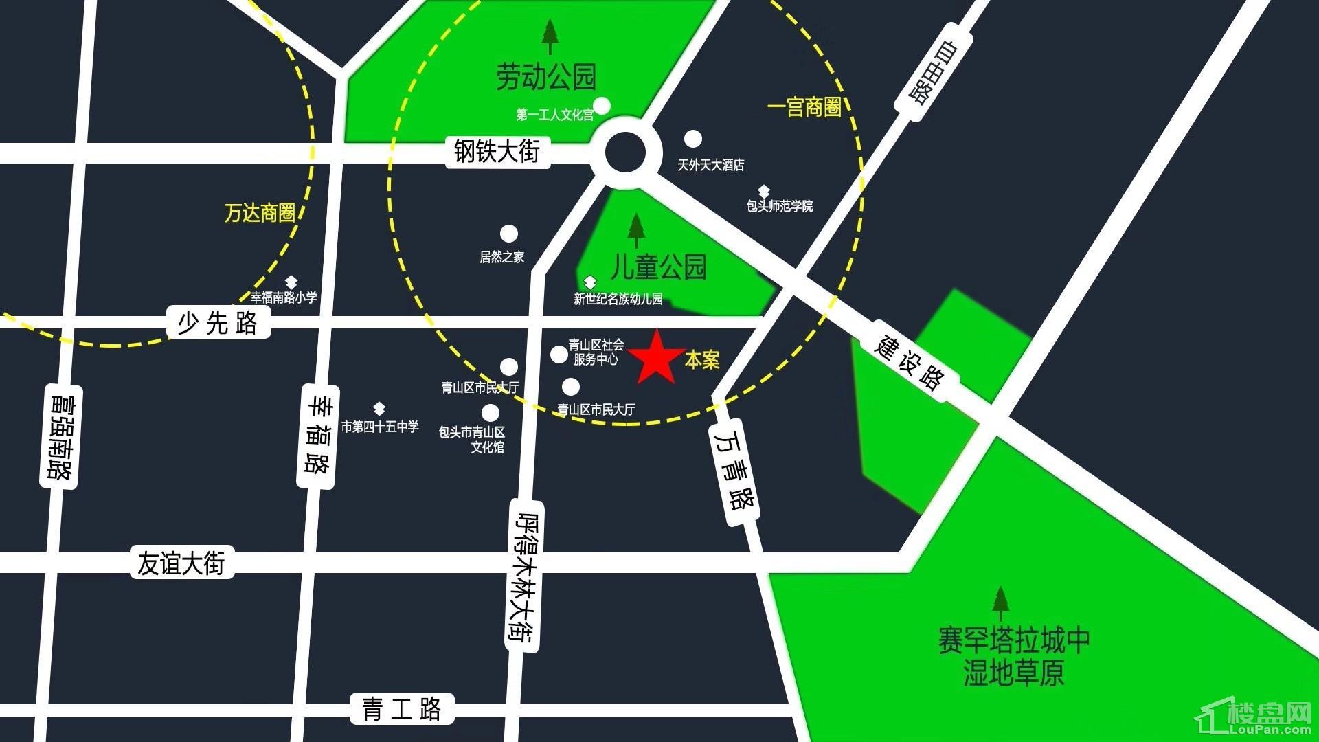 中环悦府位置图