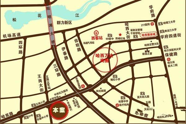 旗凯丽园位置图