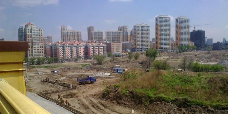 湖景春晓商铺实景图
