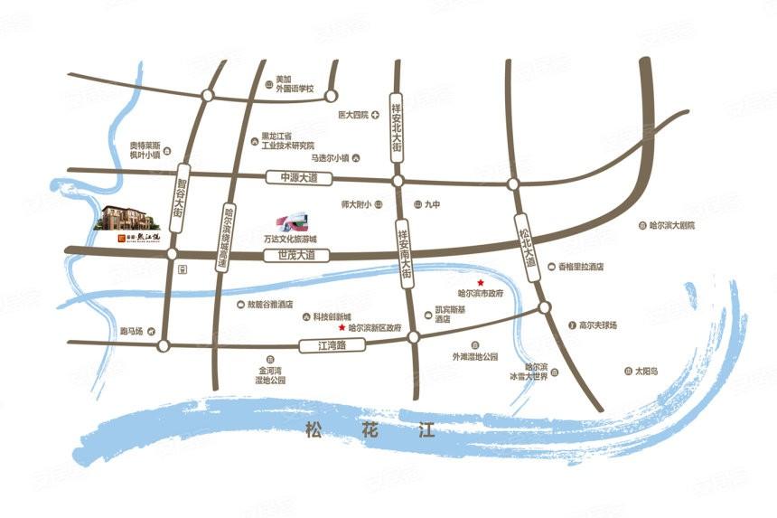 泰豪·熙江悦位置图