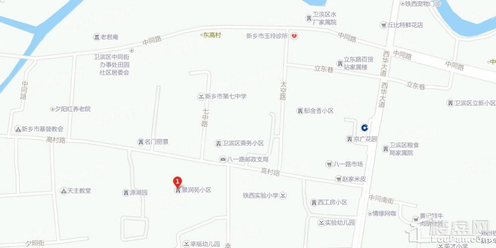 景润苑位置图