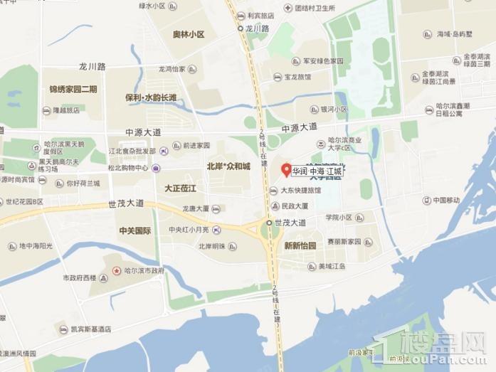 华润·中海·江城位置图
