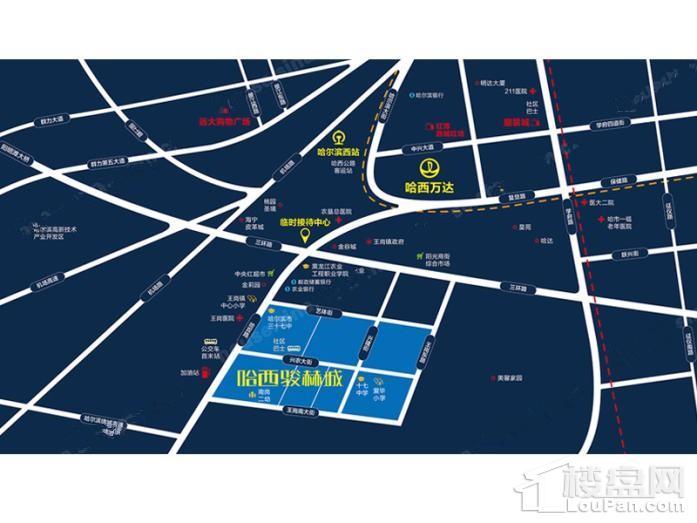 哈西骏赫城位置图