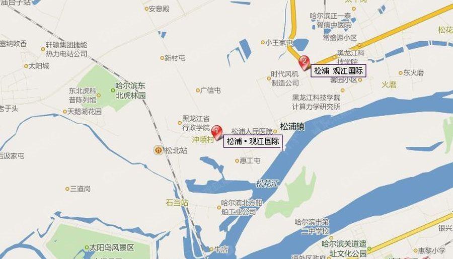 松浦观江国际位置图