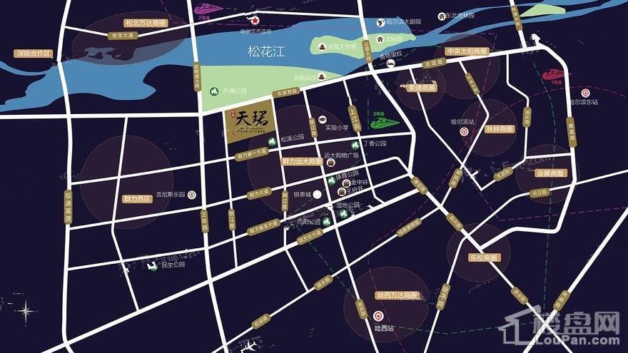 保利天珺位置图