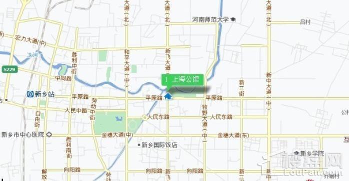上海公馆位置图