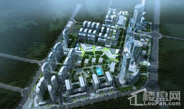 银河城市科技产业城效果图