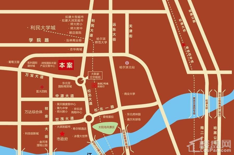 温泉壹号位置图