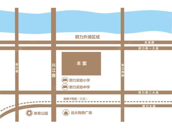 外滩首府位置图