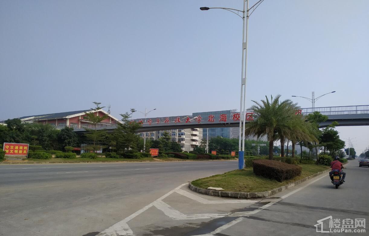 北海书香水韵旁边的桂林电子科技大学