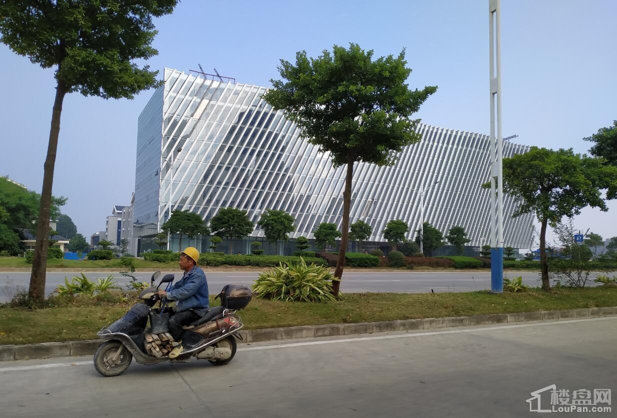 北海书香水韵对面的政府重点打造的新图书馆
