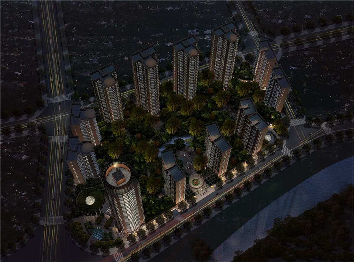 石林凯旋城效果图