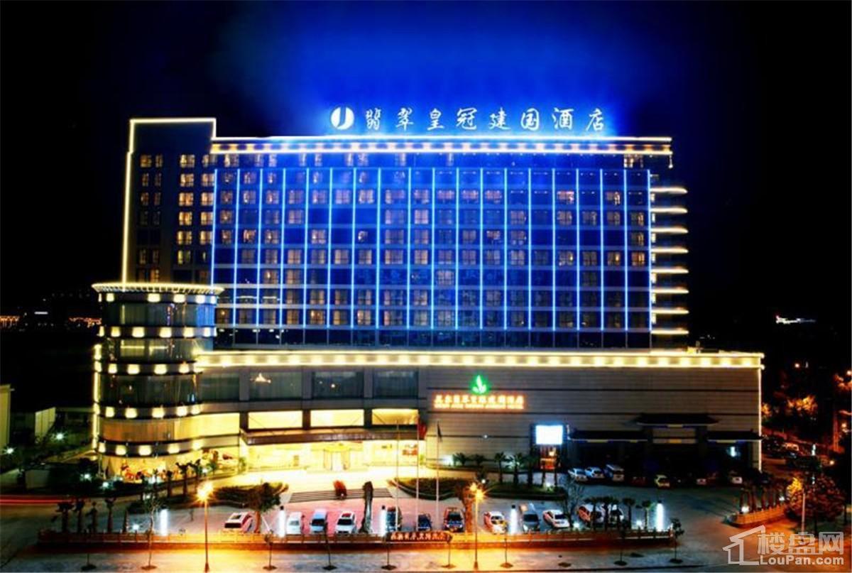 腾冲美尔翡翠皇冠建国酒店户型图