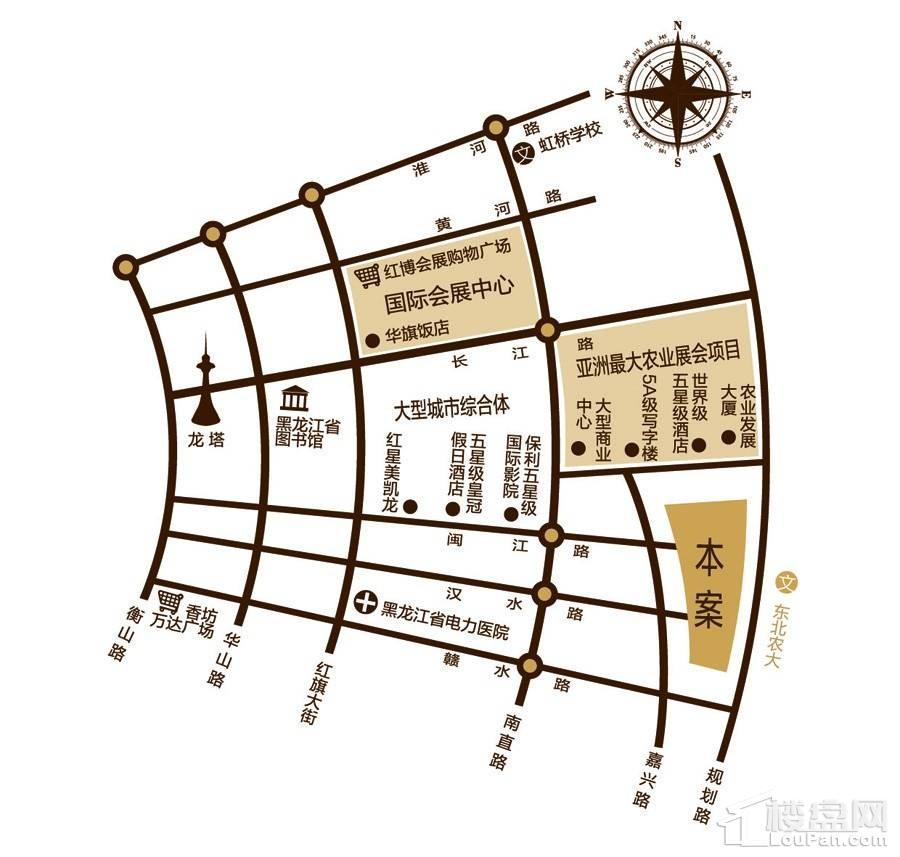 嘉兴闽江国际位置图