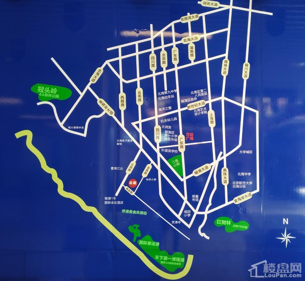 仁达汇银湾位置图