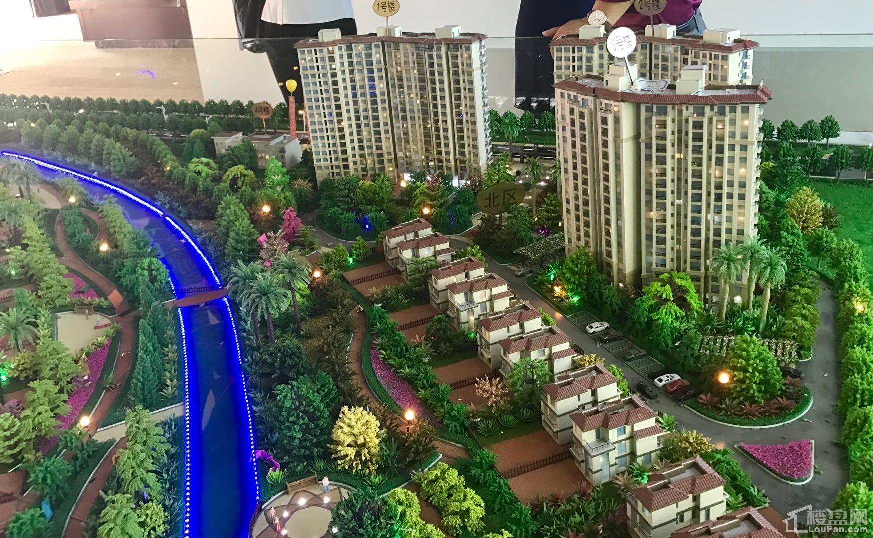 园辉红树湾  实景图