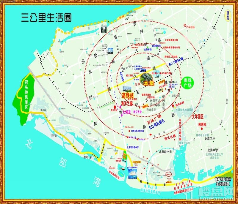 桐洋新城 位置图
