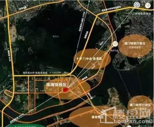 珠海富力优派广场位置图