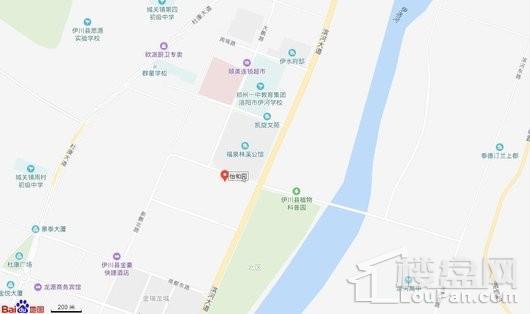 东展怡和园交通图
