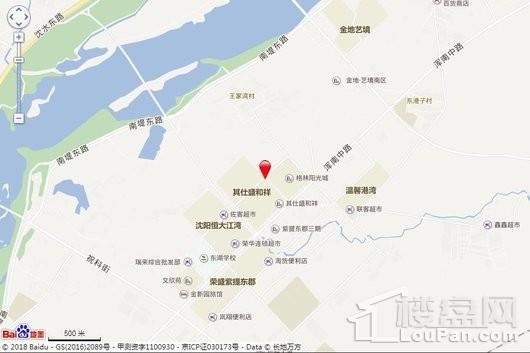 龙湖天璞交通图