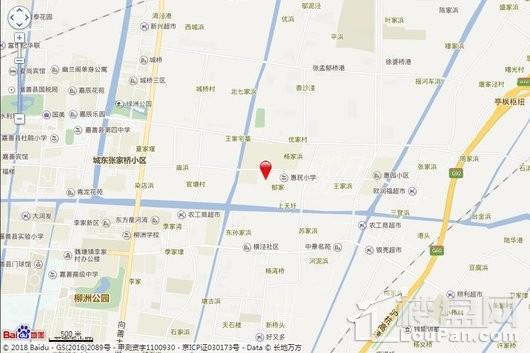 江南御苑交通图
