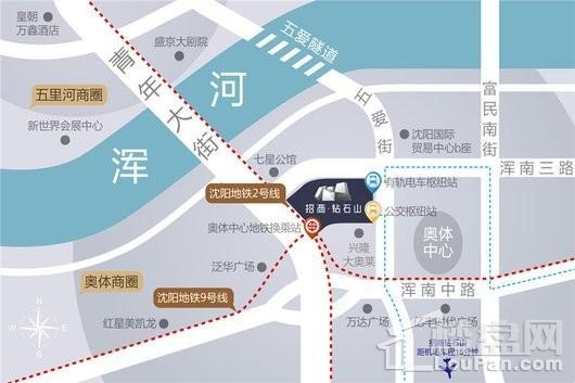 招商局大厦交通图