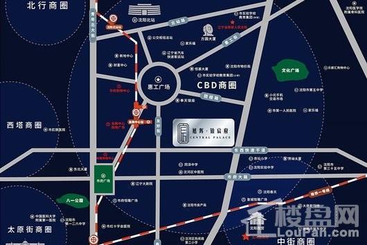 旭辉铂宸府交通图