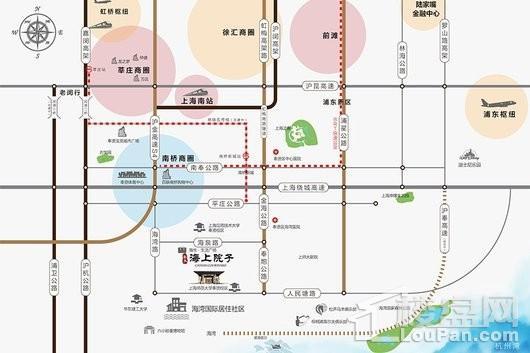 泰禾海上院子交通图
