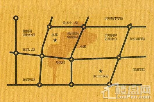 华筑·中海壹號交通图