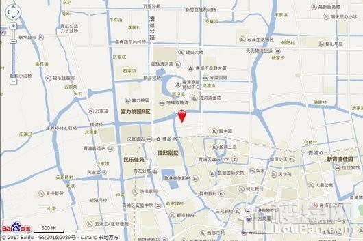 盈浦街道胜利路西侧02-01地块交通图
