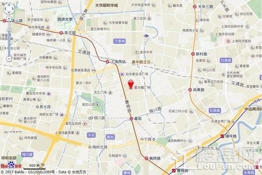 上海星光耀广场交通图