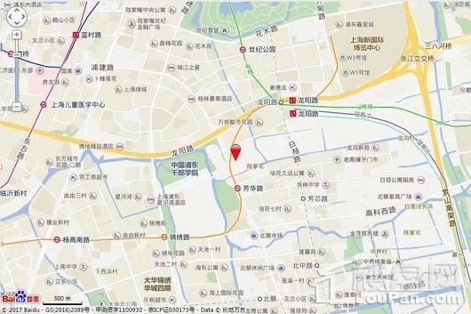 北蔡社区Z000501单元03-02、03-03地块交通图