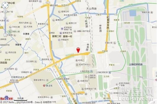 虹桥协信中心交通图