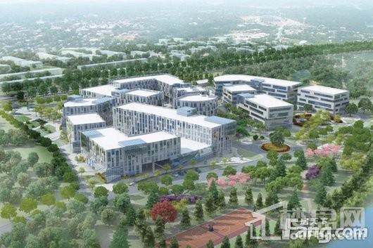 上海国际研发总部基地效果图
