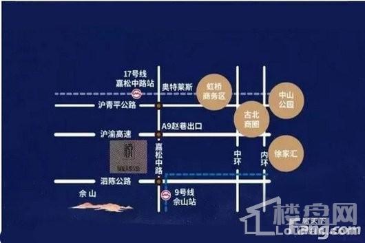 国贸天悦二期(备案名:佘北家园悦山庭)交通图