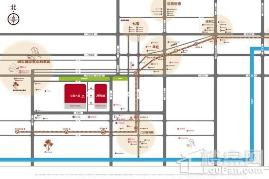 万科公园大道交通图
