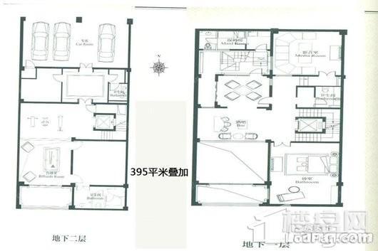 新江湾城首府别墅户型图