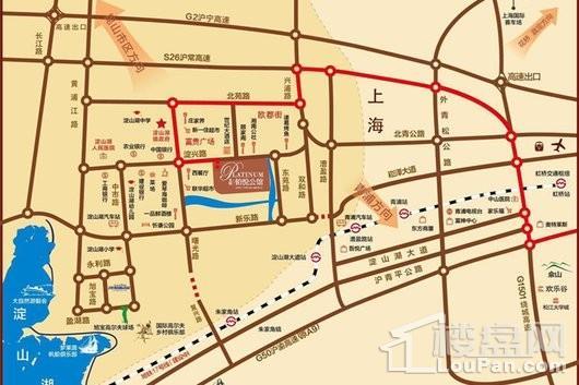 悦上海交通图