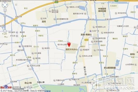 恒大佘山首府(备案名:佘北家园荟萃园)交通图