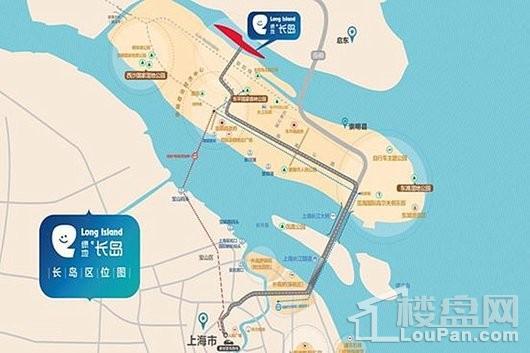 绿地长岛交通图