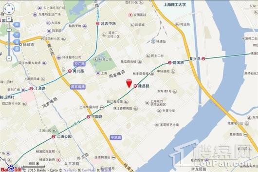 华发公馆交通图