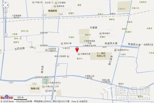凤凰城天悦交通图