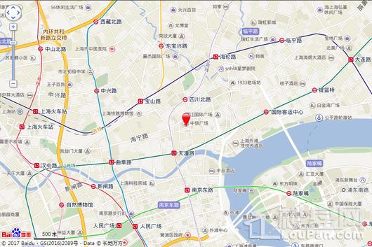 中信广场交通图