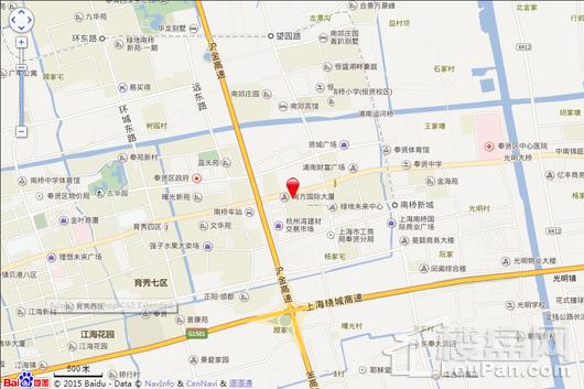 南方国际总部一号B栋创意办公楼交通图