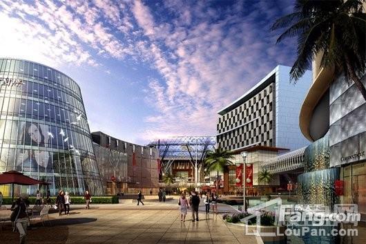 南方国际总部一号B栋创意办公楼效果图