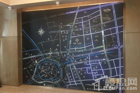 禹洲丁香里交通图