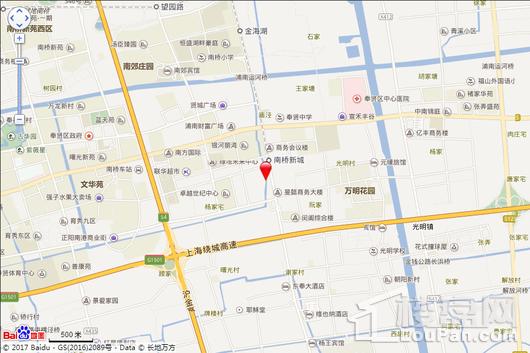 南桥国际商业广场交通图