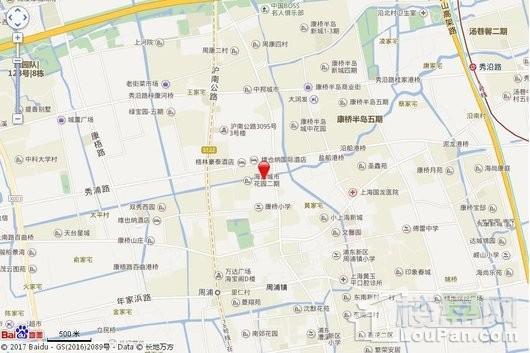 绿地东上海商铺交通图
